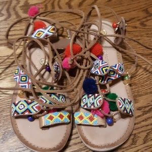 Chinese Laundry Pom Sandals